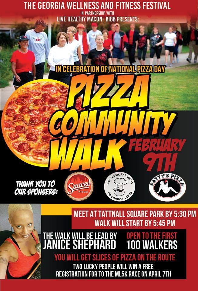 Macon-Bibb County Pizza Community Walk